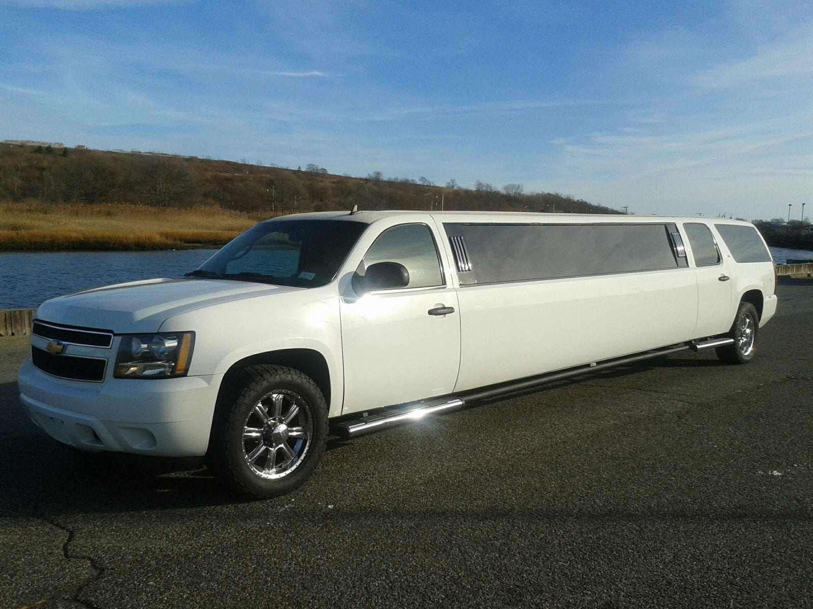 showroom - Chevy Suburban Stretch SUV Limo