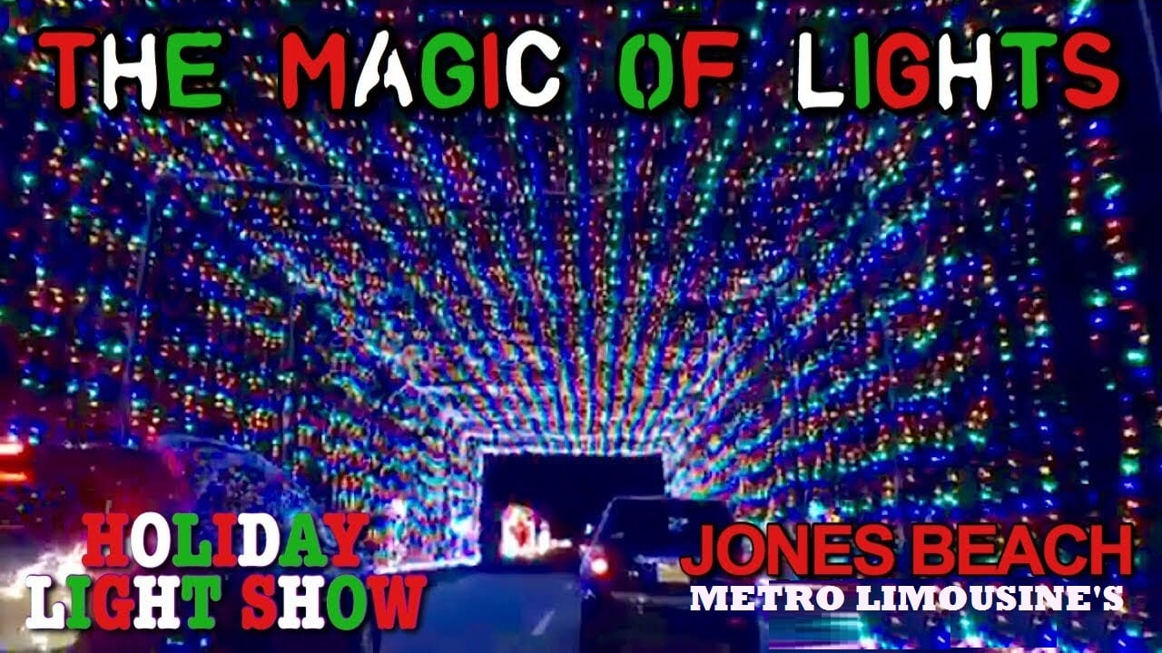 christmas light tours sight seeing hot spots metro limousine service - Jones Beach Christmas Lights