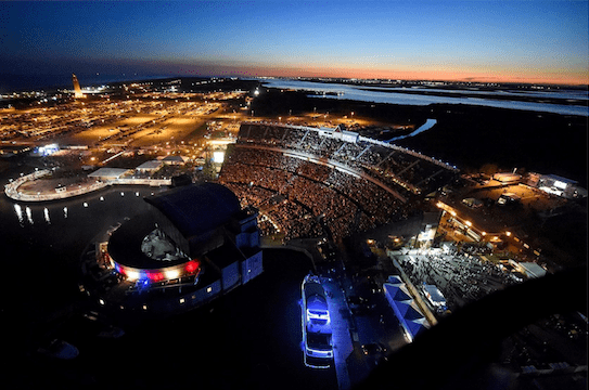 Jones Beach Theater - Metro Limousine Service