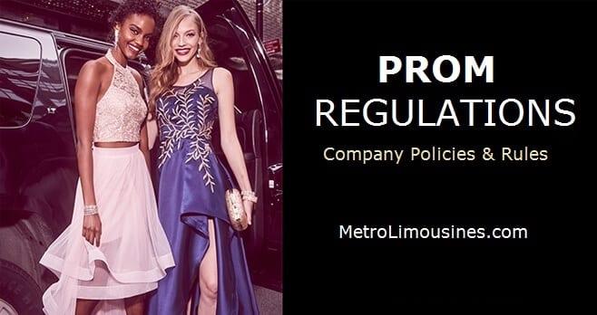 Prom Regulations - Metro Limousine Service