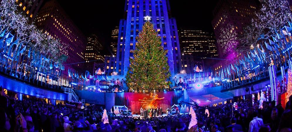 Rockefeller Tree Lighting Ceremony - Metro Limousine Service