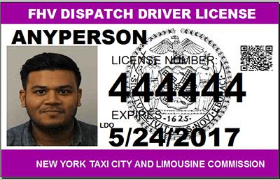 TLC License - Long Island NY