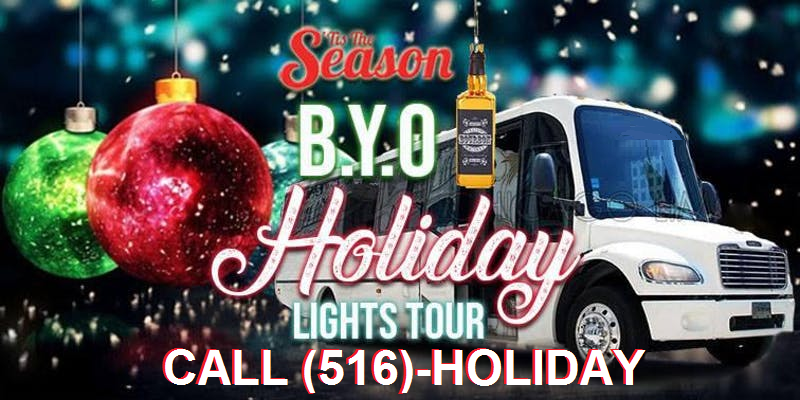 Holiday Lights Tours in Long Island NY, Dyker Heights & NYC
