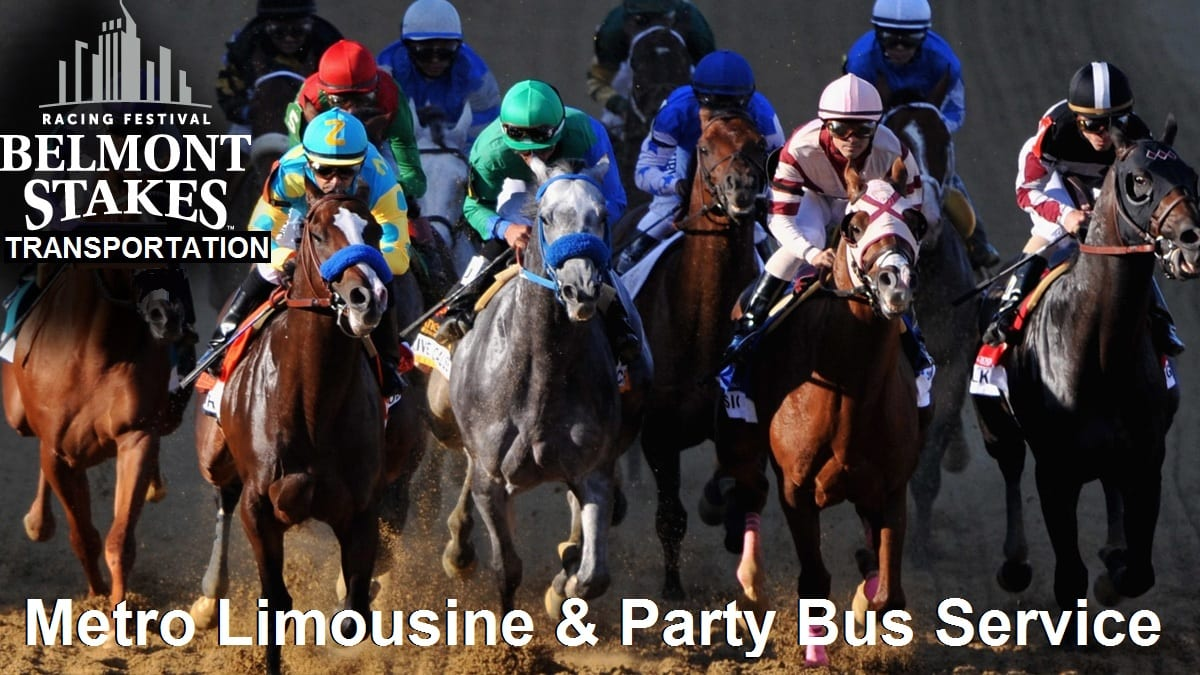Belmont Stakes Transportation Long Island & NYC