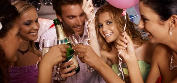 Birthday Party Limo Transportation Long Island NY