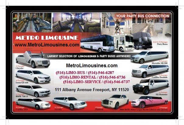Limo Service Long Island - Metro Limousine Service