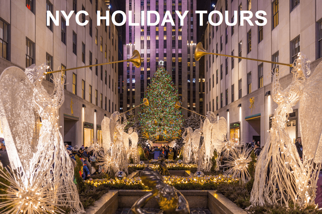 NYC Holiday Tours with Metro Limousine & Party Bus Service of Long Island NY