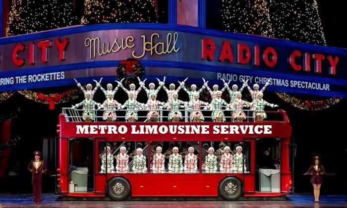 Radio City Christmas Light Spectacular Show - Metro Limousine Service