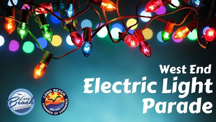 West End Electric Light Parade Long Beach NY - Metro Limousine Service